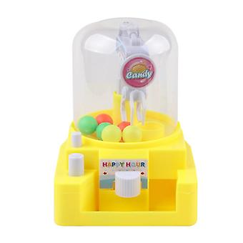 Children's Simulation Small Catching Candy Clips Machine- Interactive Manual