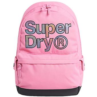 Superdry Rainbow Infill Montana Backpack Bag Pink 41
