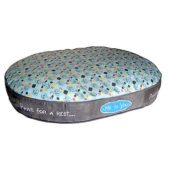Me To You Super Soft Oval Pet Bed
