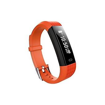 "Activiteit armband BRIGMTON BSPORT B1 0,87 ""OLED Bluetooth 4,0 IP67 Orange"