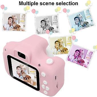 ميني الوردي كاميرا رقمية عالية الدقة، 2 & اقتباس؛ لعبة عرض ملونة