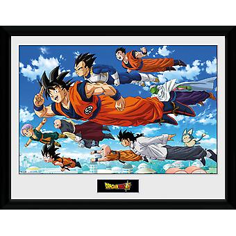 Dragon Ball Super Flying Collector Print