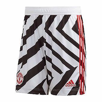 2020-2021 Man Utd Tredje Shorts (Vit)