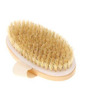 Orgaaninen kuiva iho body brush - bambu märkä takaisin suihku uiminen harjat