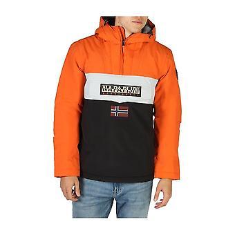 Napapijri - Clothing - Jackets - RAINFOREST_NP0A4EHF0411 - Men - black,orange - L