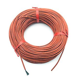 Silicone Rubber Heating Cables Floor Silica Gel Carbon Fiber Wire Home Farm Fittings