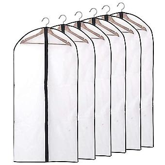 Dustproof Cloth Cover Bags - Transparent Wardrobe Storage Bag