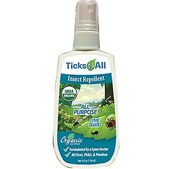 Ticks-N-All Insect Repellent, All Purpose 18 ml