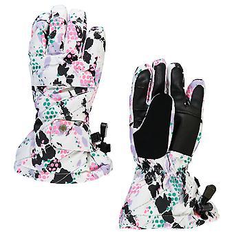 Spyder SYNTHESIS Winter Girl Ski Gloves White