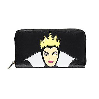 Disney Snow White Evil Queen Zip Autour de la bourse d'embrayage