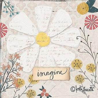 Imaginar la impresión del cartel de Daisy por Katie Doucette