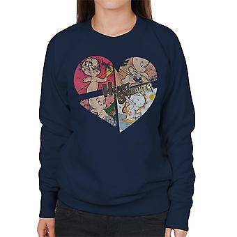 Casper The Friendly Ghost Heart Breaker Women's Sweatshirt
