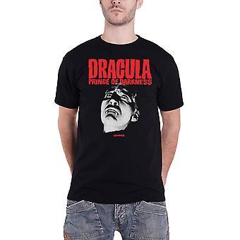 Hammer Horror T Shirt Dracula Movie Logo new Official Mens Black