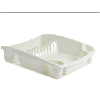 Whitefurze Dish Drainer Cream Large H33LD8