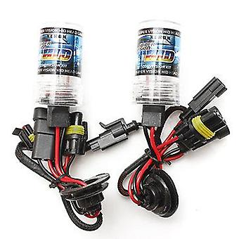 One Pair H1 35W Car Xenon HID Replacement Bulbs (COLOR TEMPERATURE: 10000K)