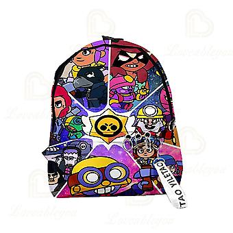 Spike Shelly Bagpack New Game Backpack Star Multicolor School Bag For Teenagers