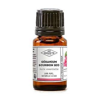 Organic essential oil of Geranium Bourbon 10 ml of essential oil