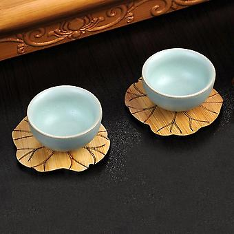 Bamboo Lotus Coasters