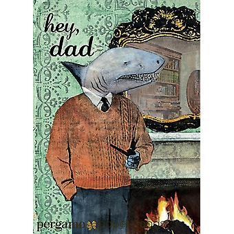 Shark Dad Card