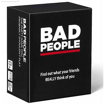 Bad People: The Adult Party Game You Probably Shouldn't Play
