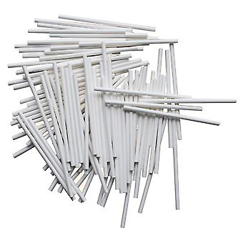 Paper Stalks For Flexiform Cake Pops Lollipop Sticks 10cm Set Of 100