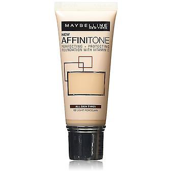 Maybelline Affinitone Unifying Foundation krem 30ml - 02 jasny gres