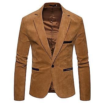 High-q9uality Men's Coats Blazer Tops Slim Fit Long Sleeve Jacket