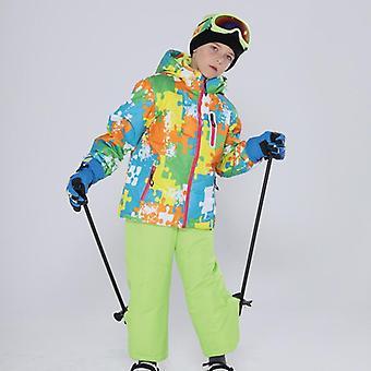 Kinder Winddicht, Wasserdicht warm Unisex Ski Anzug
