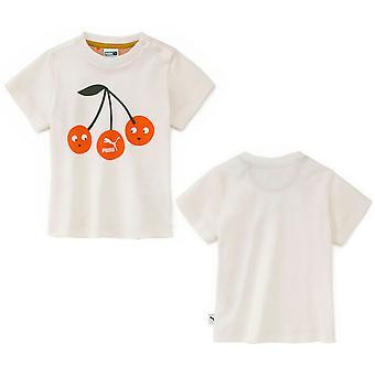 Puma x Tiny Cottons Baby Logo T-Shirt Niemowlę Dzieci Dzieci Top 855109 01 RW91