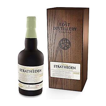 Selezione vintage Stratheden dell'azienda di distilleria perduta. 700ml, 46% vol, scatola di legno, pianura s