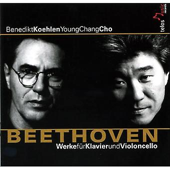 L.V. Beethoven - Beethoven: Works for Piano & Cello [CD] USA import