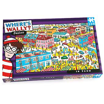 University Games Where's Wally In Town 100pc Puzzle