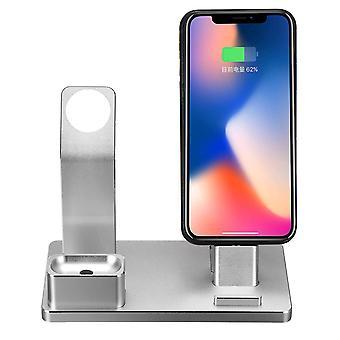 3 In 1 porta telefono dock station di ricarica per iphone/apple watch series/apple airpods