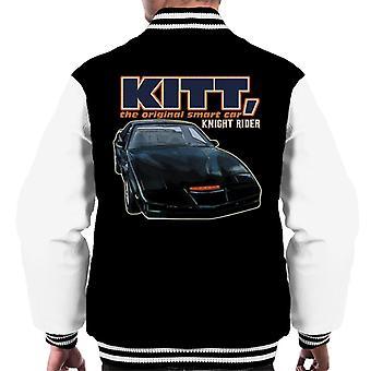 Knight Rider KITT Den Opprinnelige Smart Bil Menn&Apos;s Varsity Jakke