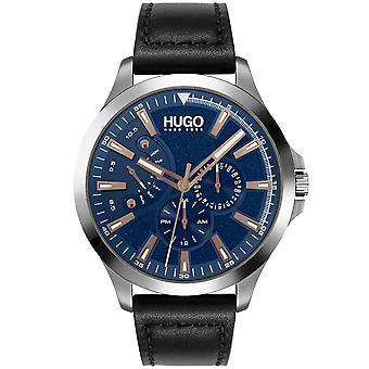 HUGO Hugo 1530172 Leap Black And Blue Mens Watch