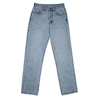 High Waist Loose Comfortable Jeans, Straight Pants Mom Pant