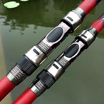 High Carbon bärbara teleskopiska fiskespö karp fiske fiske Tackla