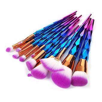 Unicorn Colorful Pro sæt med 12 stk eksklusive makeup/Makeup børster