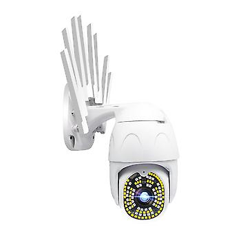 Guudgo 100 LED 1080P 2MP IPカメラ屋外ワイヤレス無線無線セキュリティIP66防水カメラ355パンTi