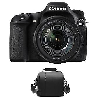 CANON EOS 80D KIT EF-S 18-135mm F3.5-5.6 IS USM + Canon Tasche