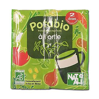 Potabio instant soup Nettle 2 packets of 8.5g