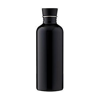Enväggsflaska Svart 500 ml