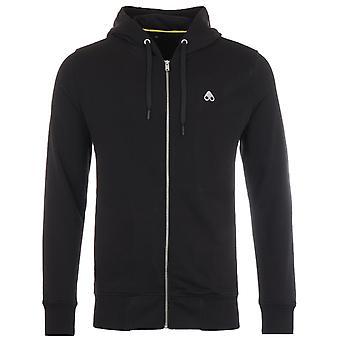Moose Knuckles Magnapop Zip Hooded Sweatshirt - Black