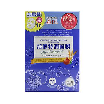 Active enzyme moisturizing facial mask 260711 8pcs