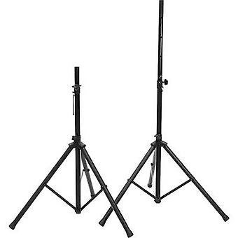 Omnitronic MOVE MK2 PA speaker stand set Telescopic, Height-adjustable 2 pc(s)