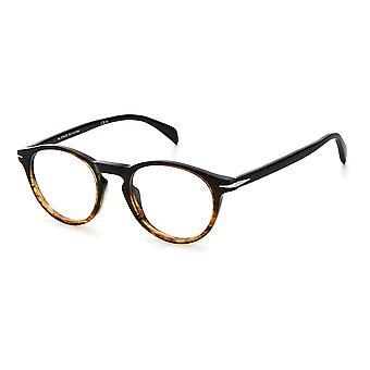David Beckham DB1026 0MY Brown Beige Glasses