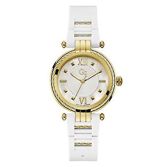 Women:s Watch Guess Collection Y56007L1MF - Valkoinen silikonihihna