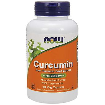 Now Foods Curcumine 60 Capsules Végétales