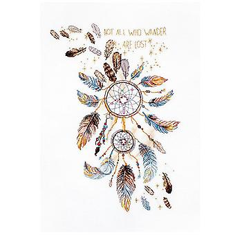 Letistitch Cross Stitch Kit - Never Stop Dreaming (Leti984)