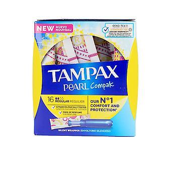 Tampax Tampax Pearl Compak Tampón Regularne 16 Uds dla kobiet